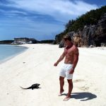 Iguanas in the bahamas